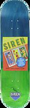 Siren - Wax Packs Basketball Deck-8.12 Faded Veneer (Skateboard Deck)