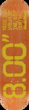Skate Mental - Mental Curtin Size Deck-8.0 (Skateboard Deck)