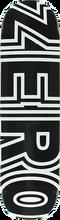 Zero - Bold Deck-8.5 Black/wht (Skateboard Deck)