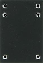 "Price Point - Riser Rubber 1/8"" Black 1pc"
