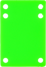 """Price Point - Riser Silicone 1/8"""" Green 1pc"""