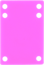 """Price Point - Riser Silicone 1/8"""" Pink 1pc"""