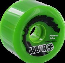 Arbor - Biothane 70mm 78a Green (Wheels - Set Of Four)