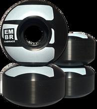 Embrace - Logo 51mm 100a Blk/wht (Wheels - Set Of Four)