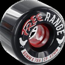 Free Wheel Co - Range 60mm 78a Black (Wheels - Set Of Four)