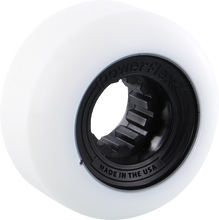 Powerflex - Gumball 52mm 83b Wht/black (Wheels - Set Of Four)
