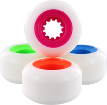 Powerflex - Gumball 54mm 83b Wht/mix#1(mg,og,lm,blu) (Wheels - Set Of Four)