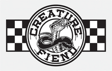 "Creature - Strike Fast 3"" Decal Wht/blk/check"