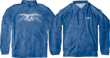Anti Hero - Basic Eagle Double Windbreaker Yth M-royal/wht