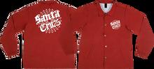 Santa Cruz - Cob Web Windbreaker Xl-cardinal Red