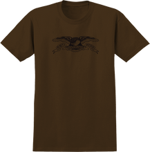Anti Hero - Basic Eagle Ss S-coffee/blk