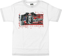 Dgk - American Dream Bill Ss S-white