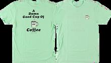 Habitat - Peaks Damn Good Coffee Ss Xl-aqua