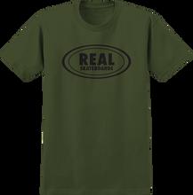 Real - Og Oval Ss S-military Grn/black