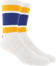 Kurb - Mens Crew 121 Stripe Wht/blue