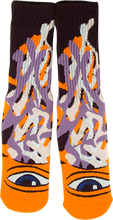 Toy Machine - Barf Sect Crew Socks Orange 1 Pair