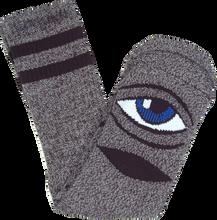 Toy Machine - Sect Eye Heather Crew Socks-grey 1pr