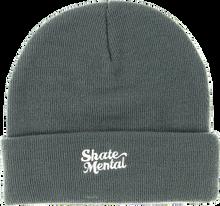Skate Mental - Mental Script Logo Beanie Grey