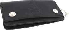 Suicidal - Logo Leather Chain Wallet Black