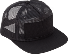 Creature - Reverse Patch Mesh Hat Adj-black