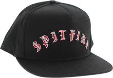 Spitfire - Old E Hat Adj-black/red