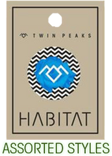 Habitat - Twin Peaks Button 1pc