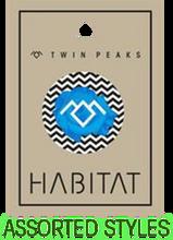 Habitat - Twin Peaks Button 1pc