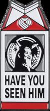 Powell Peralta - Animal Chin Milk Carton Lapel Pin Single