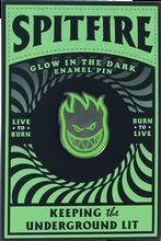 Spitfire - Stay Lit Lapel Pin Grn/blk