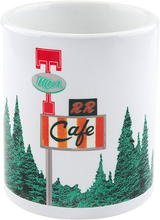 Habitat - Twin Peaks Damn Good Coffee Mug White