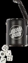 Santa Cruz - Shooter Dice Set Black