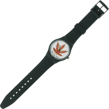 Skate Mental - Mental Pizza Leaf Watch Black