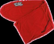 """Sticky Bumps - Fleece Board Sock 10'6"""" Red Longboard"""