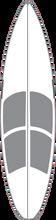 """Surfco - Hotgrip Wax Mat 6'0"""" Shortboard"""