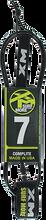 Xm - Regular Complite Leash 7' Black