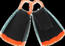 Dmc - Repellor Swim Fins Xs-blk/org (size4-5)