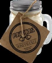 Matunas - Soy Candle 16oz Glass Mug-honeysuckle