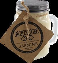 Matunas - Soy Candle 16oz Glass Mug-jasmine