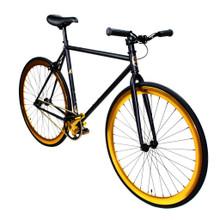 ZF Bikes - Fixed Gear Bike - Black Gold
