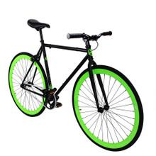 ZF Bikes - Fixed Gear Bike - Green Monster