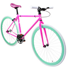 ZF Bikes - Fixed Gear Bike - Gum Drop