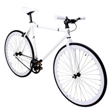 ZF Bikes - Fixed Gear Bike - White Out