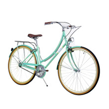 ZF Bikes - Civic Womens City Bike - Minty