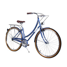ZF Bikes - Civic Womens City Bike - Misty Blue