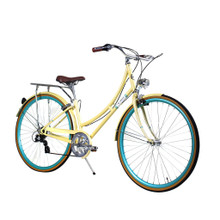 ZF Bikes - Civic Womens City Bike - Summer 7Speed