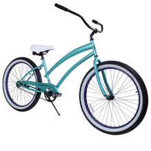 ZF Bikes - Beach Cruiser Bike - Cheetah - Aqua