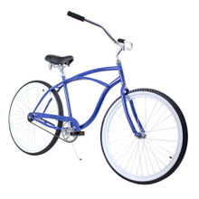 ZF Bikes - Beach Cruiser Bike - Classic - Blue