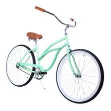 ZF Bikes - Beach Cruiser Bike - Classic Women - Mint