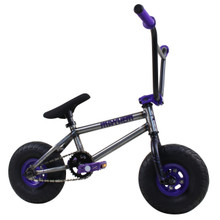 Fatboy Mayhem BMX Riot Series Bike - Mini BMX - Raw