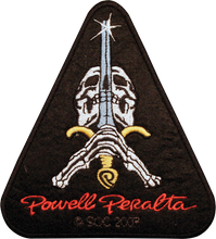 Powell Peralta - Skull & Sword Patch